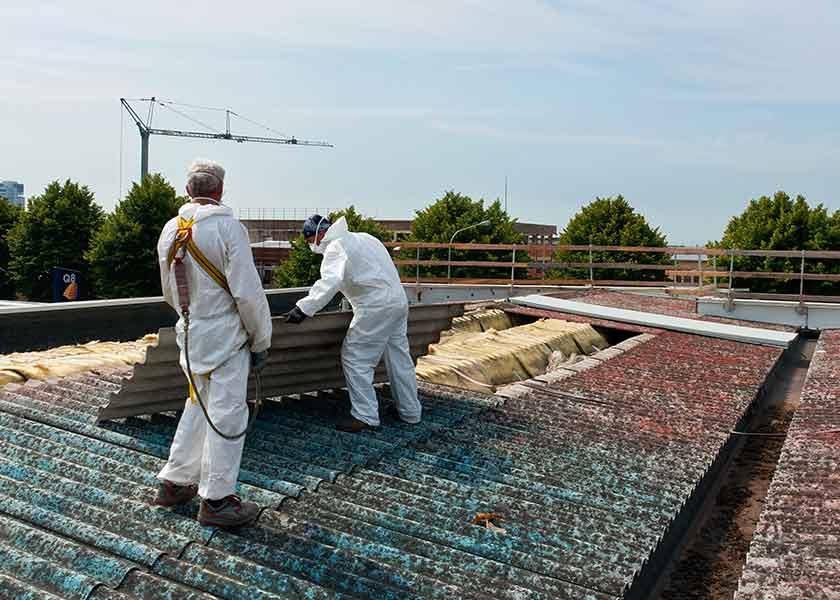 Roofing asbestos removal services for Brisbane and the Sunshine Coast